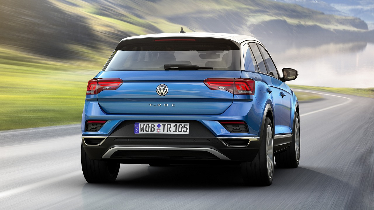 volkswagen t roc officially revealed and it s a rockstar of a compact crossover motoroids. Black Bedroom Furniture Sets. Home Design Ideas