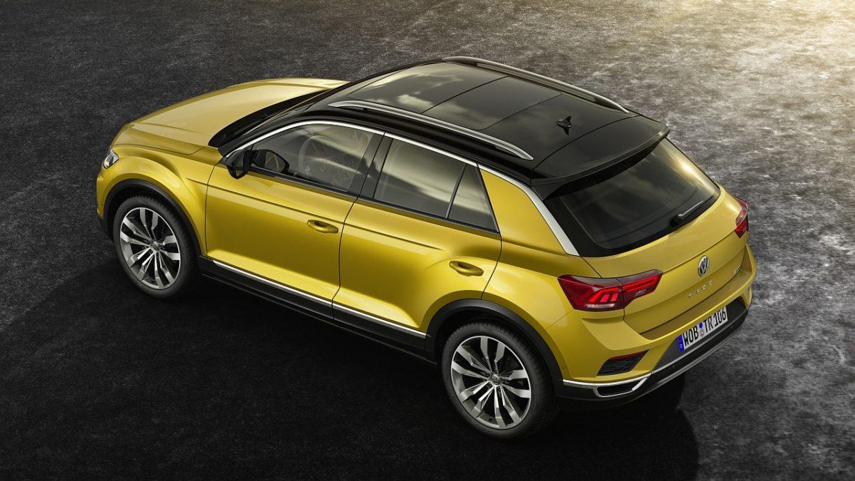 Volkswagen VW T Roc compact crossover rear (3)