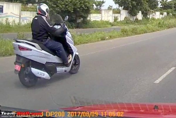 Quarter-Litre Benelli Zafferano 250 Scooter Spied In India