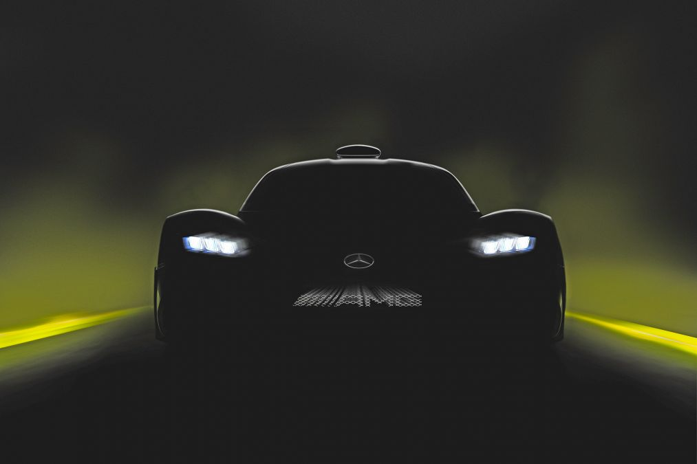 Mercedes-AMG Releases Last Project One Teaser Ahead Of Frankfurt Debut
