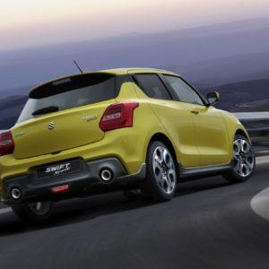 Suzuki Swift Sport Tyre Pressure