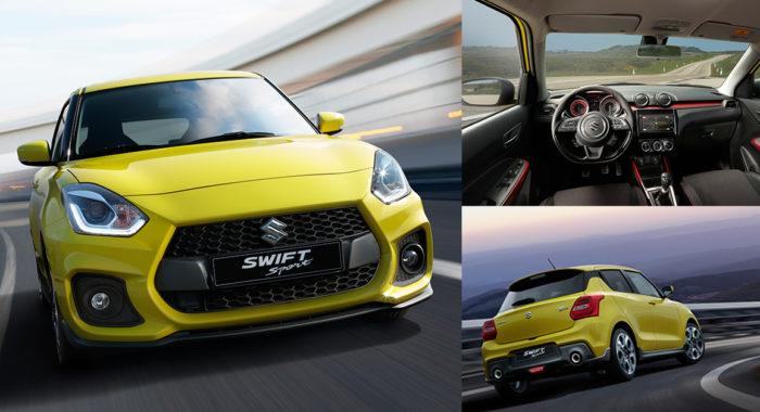 All-New Suzuki Swift Sport Unveiled At 2017 Frankfurt Motor Show