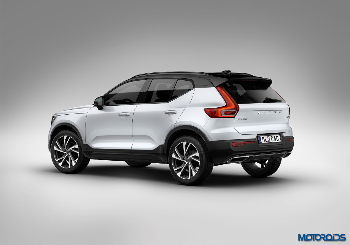 new volvo xc40 unveiled india bound in 2018 motoroids. Black Bedroom Furniture Sets. Home Design Ideas