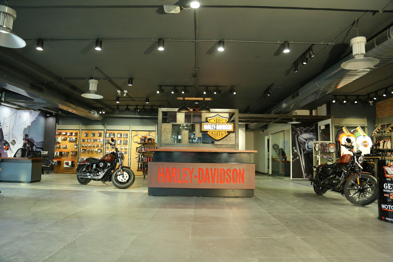 Harley-Davidson Inaugurates Its Third Showroom In ...