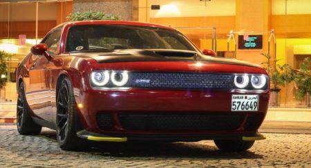 Dodge Challenger SRT Hellcat India (1)