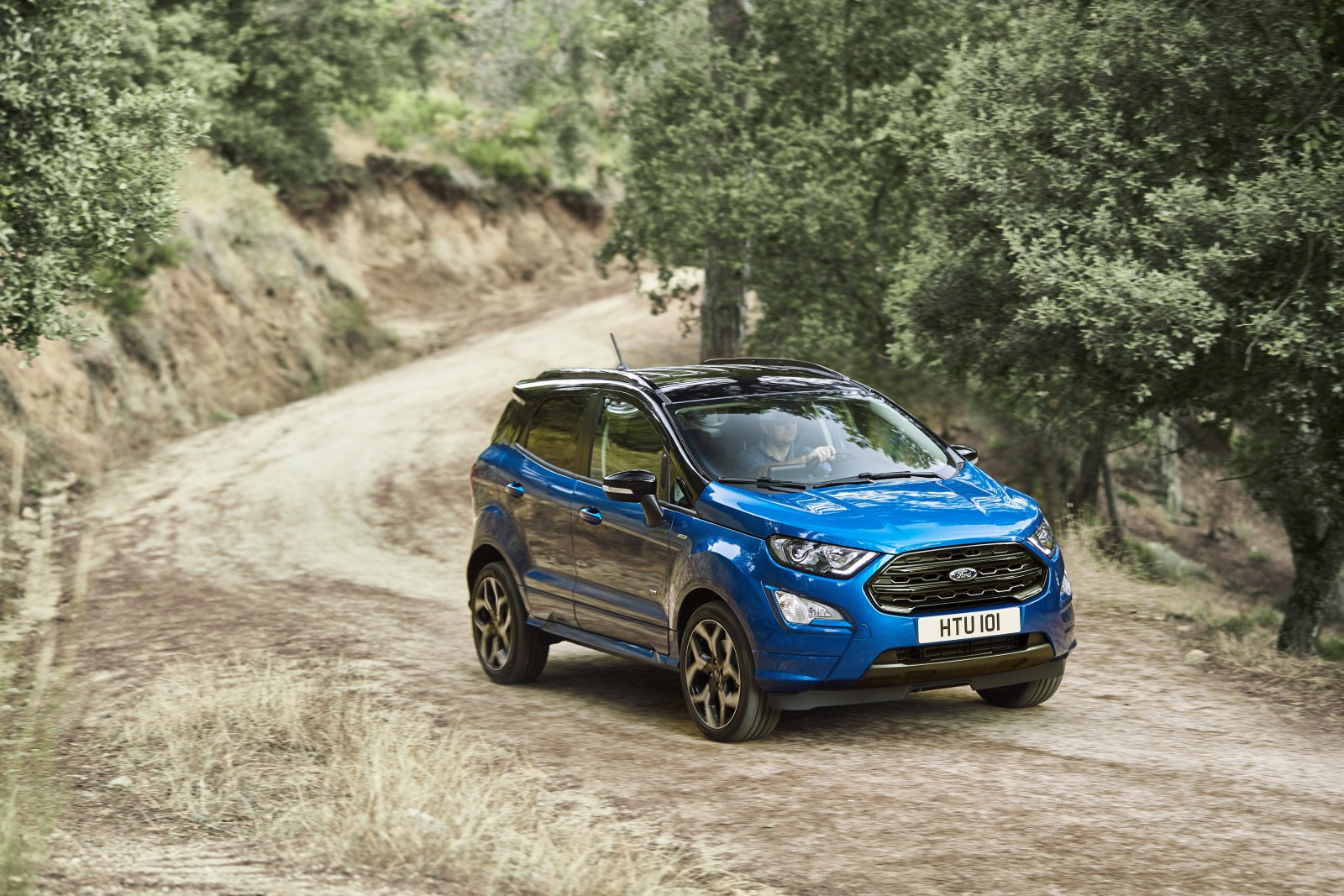 Refreshed Ford EcoSport revealed ahead of Frankfurt Motor Show