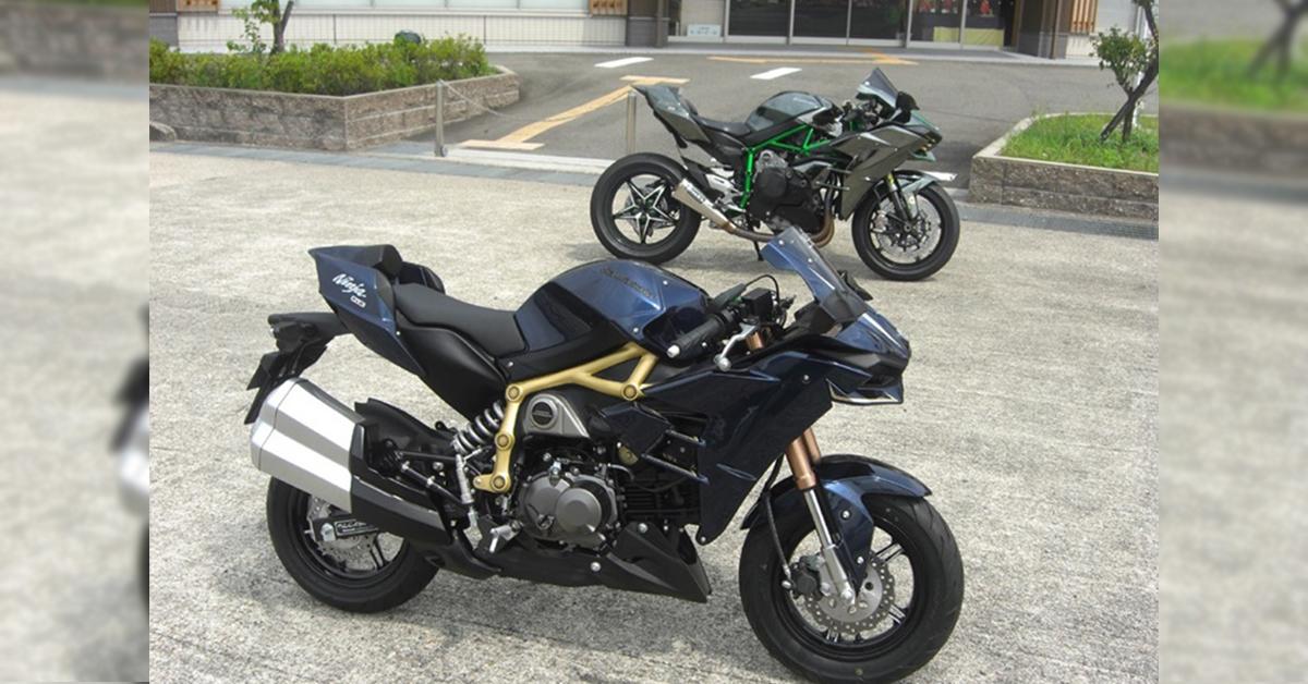 Riding Kawasaki Z Pro