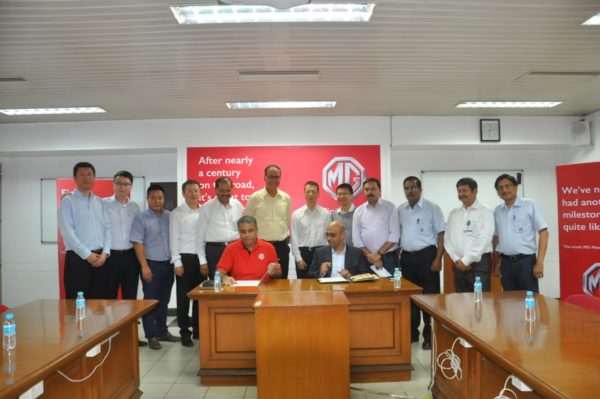 MG-Motor-Inaugurates-Its-First-Manufacturing-Facility-In-India-2-600x399