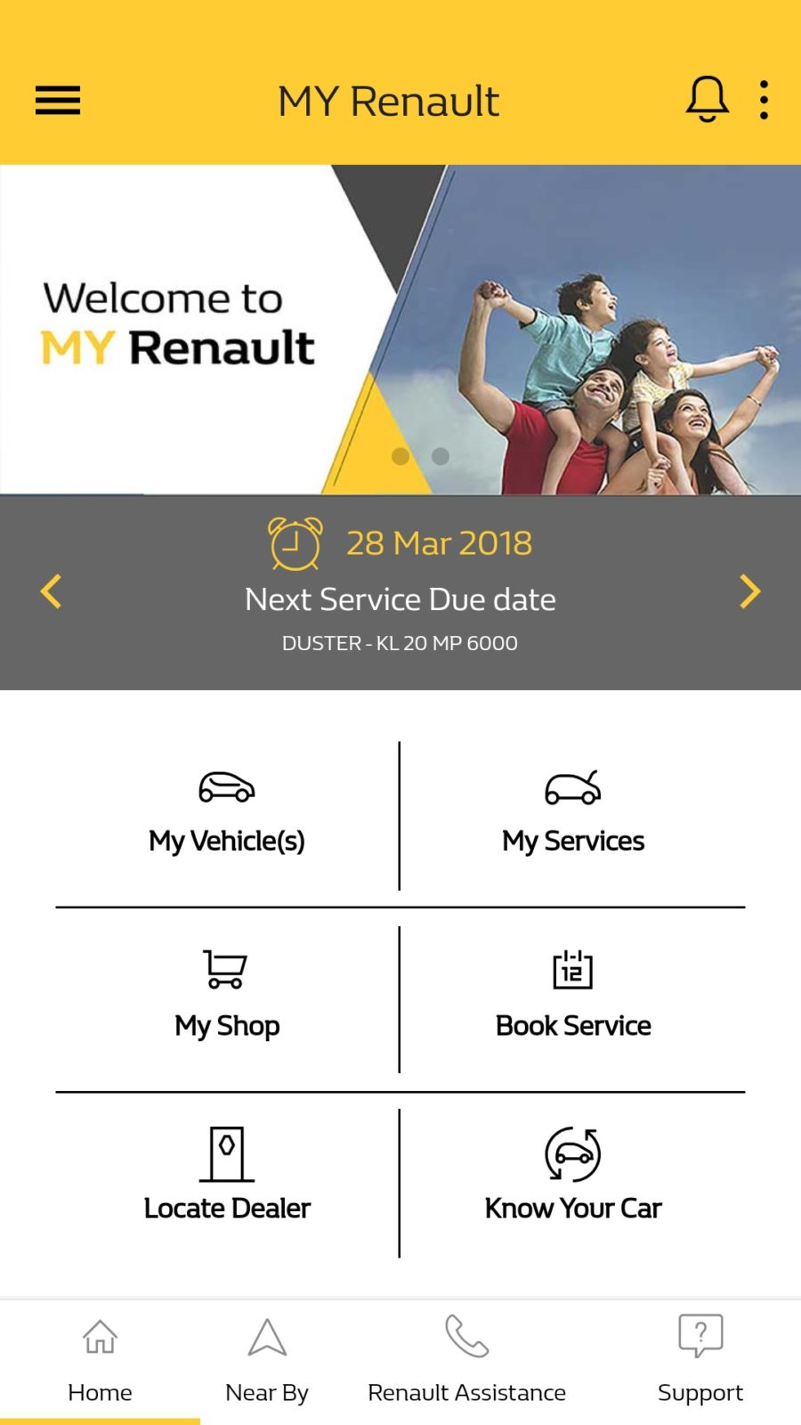 renault india launches 39 my renault app 39 motoroids. Black Bedroom Furniture Sets. Home Design Ideas