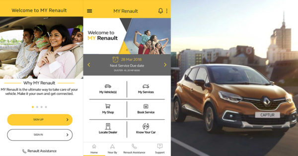 MY Renault App - Screen Shots - Android - Feature Image