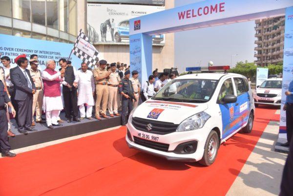 Maruti-Suzuki-Presents-35-Vehicles-To-Haryana-Police-1-600x401