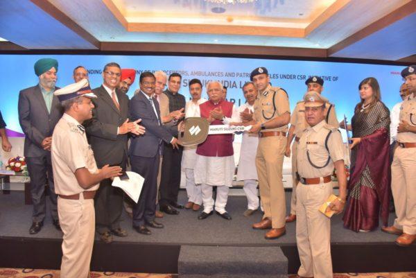 Maruti-Suzuki-Presents-35-Vehicles-To-Haryana-Police-2-600x401