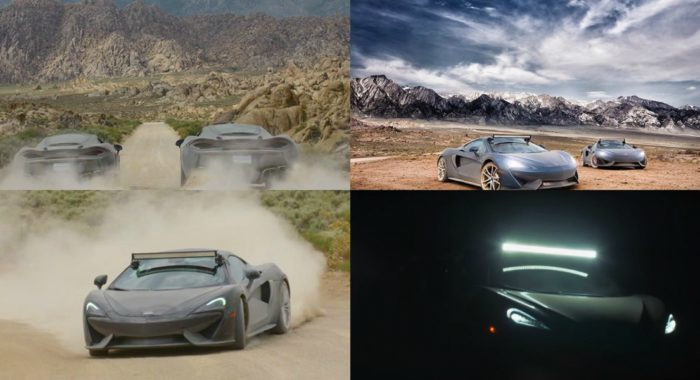 VIDEO: When two McLaren 570 GTs decided to play dirty