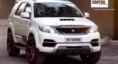 Motormind Toyota Fortuner Grand Canyon Edition (1)