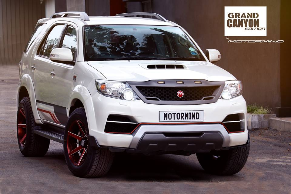 New Jeep Renegade >> Toyota Fortuner Grand Canyon Edition Is Just The Upgrade ...