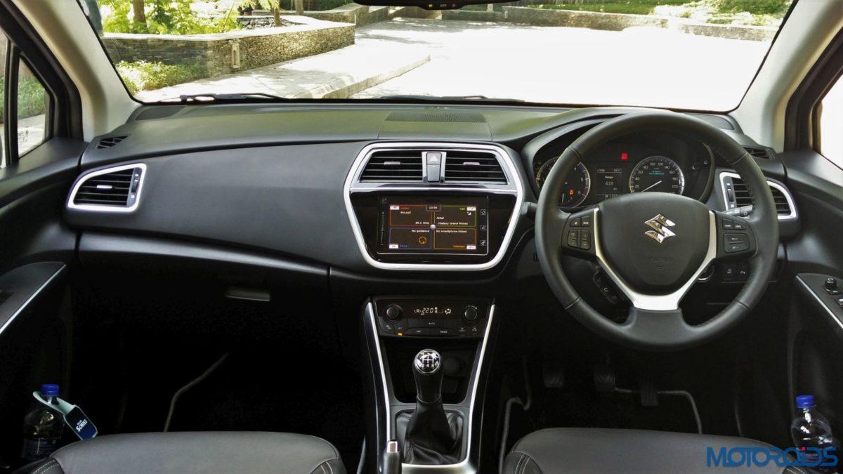 New Maruti Suzuki S Cross Alpha Review Cabin(44)
