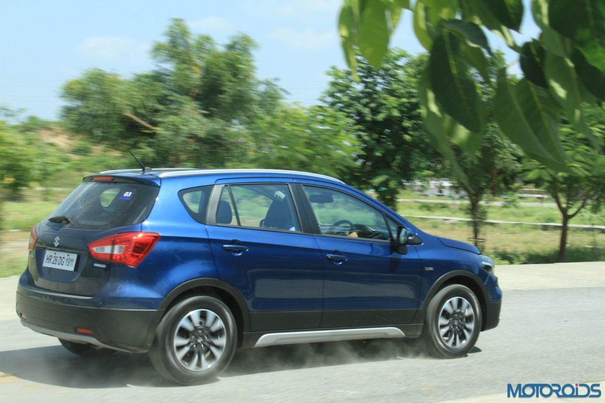 New Maruti Suzuki S Cross Alpha Review action shots(2)