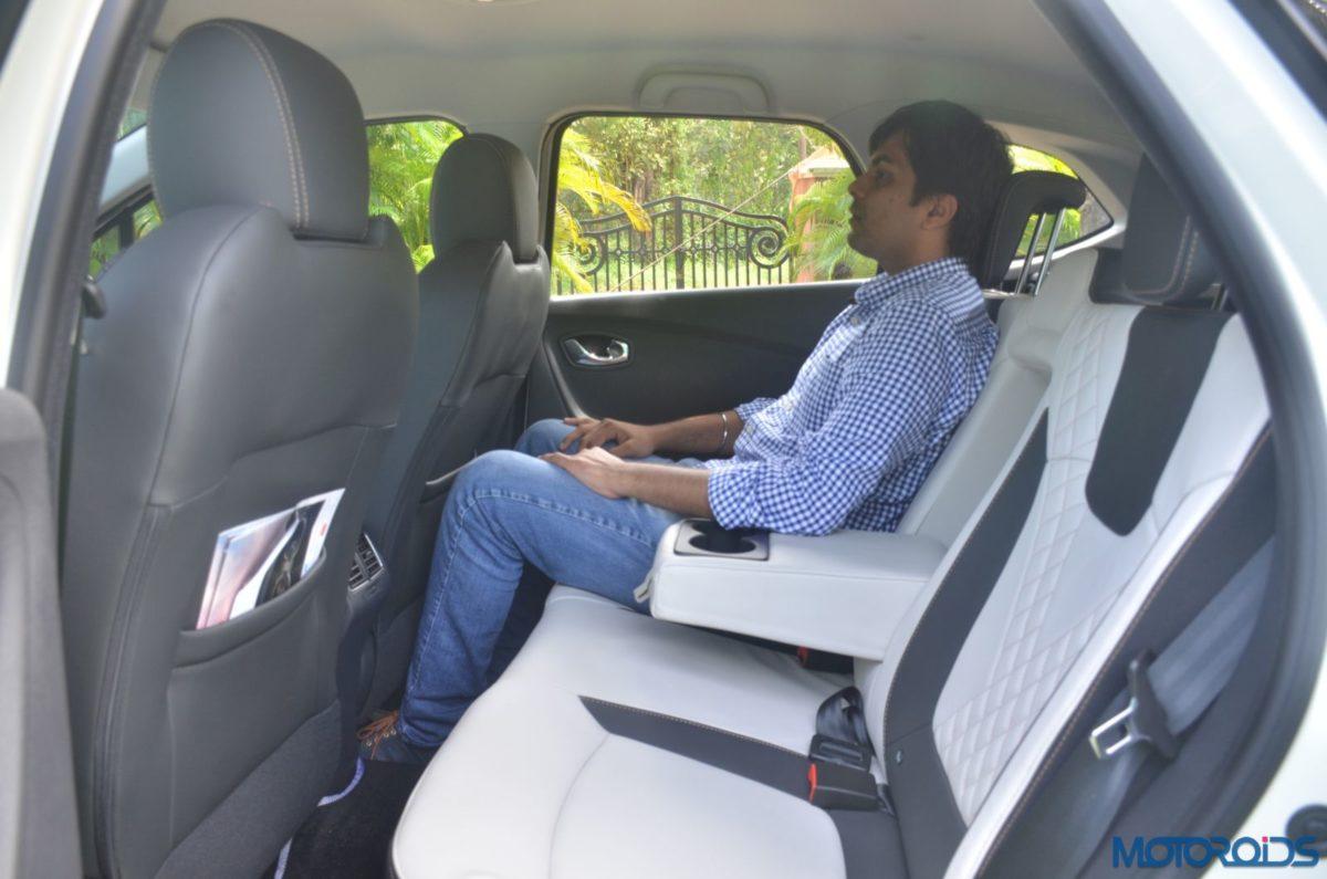 New Renault Captur rear seat space (1)