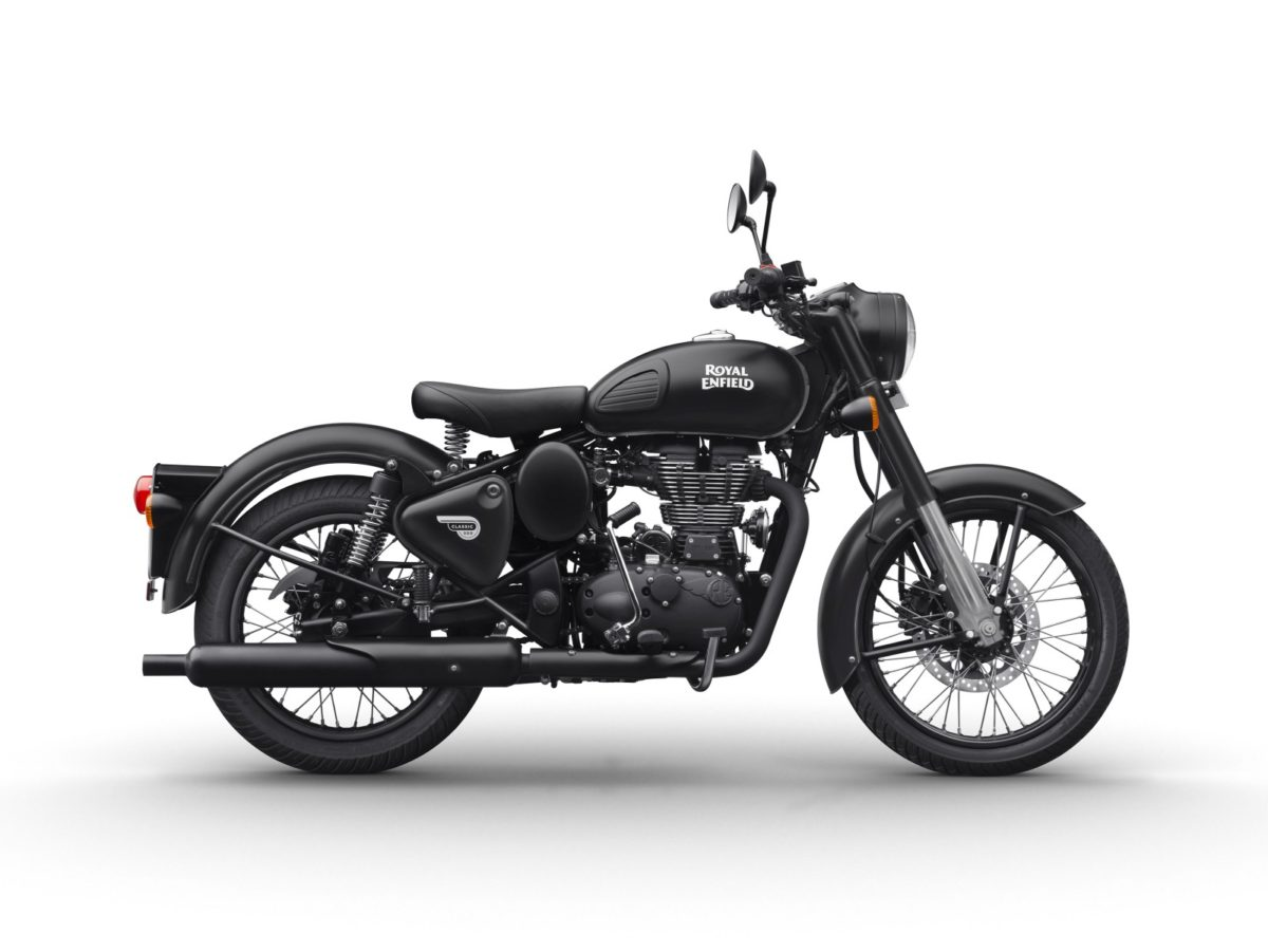 Royal Enfield – Classic 500 Stealth Black