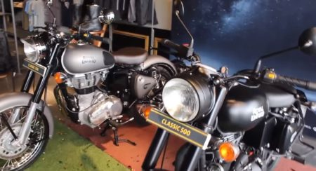 VIDEO: Royal Enfield Classic 500 Stealth Black Walk around Emerges