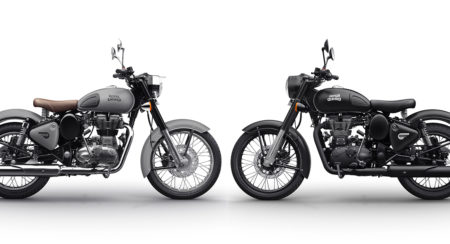 Royal Enfield Classic Now Available In Gunmetal Grey & Stealth Black