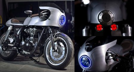 Royal Enfield Continental GT - Silver Bullet - Feature Image (1)