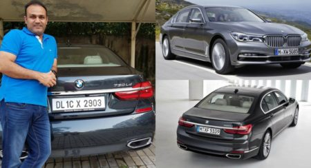 Sehwag BMW 7 Series collage