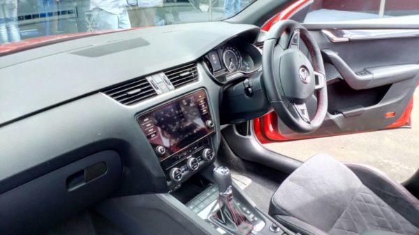 Skoda Octavia RS 230 India Interior