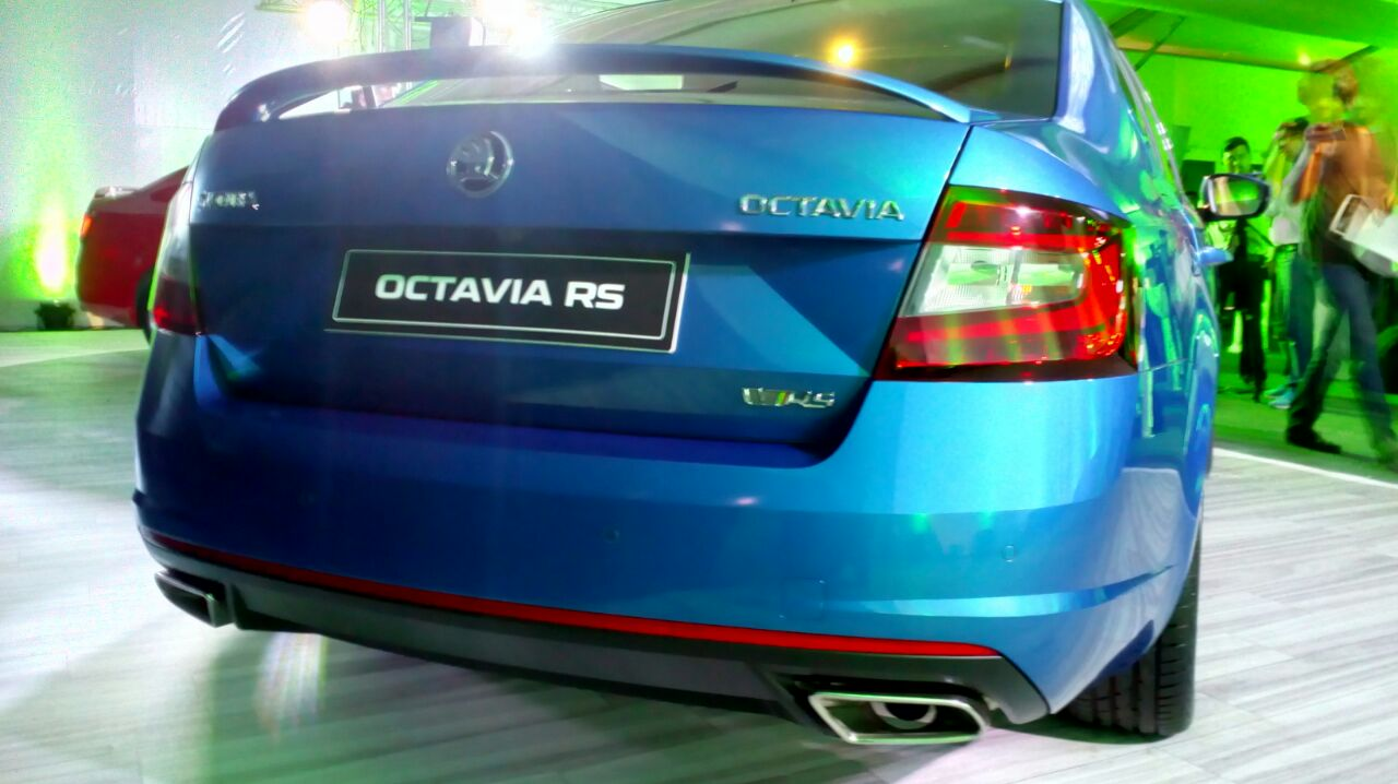 Skoda-Octavia-RS-230-India-rear-3