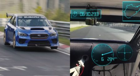 Subaru On Steroids Laps Nurburgring Nordschleife In Under 7-Minutes - Feature Image (1)