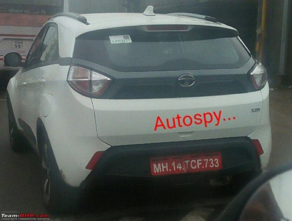 Tata-Nexon-AMT-XZA-Spied-rear-three-quarters-1024x779-600x456
