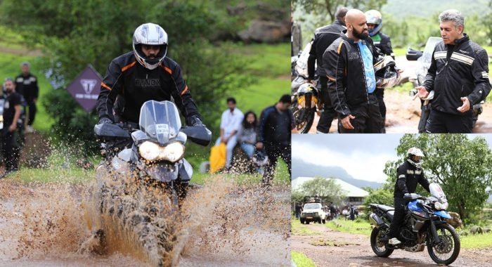 Triumph Tiger Trails Ride Experience: Understanding The Techniques Of Off-Roading