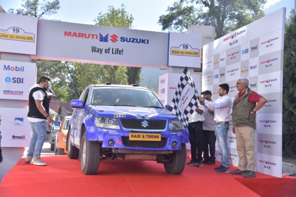 19th Maruti Suzuki Raid De Himalaya Kicked Off From Manali (1)