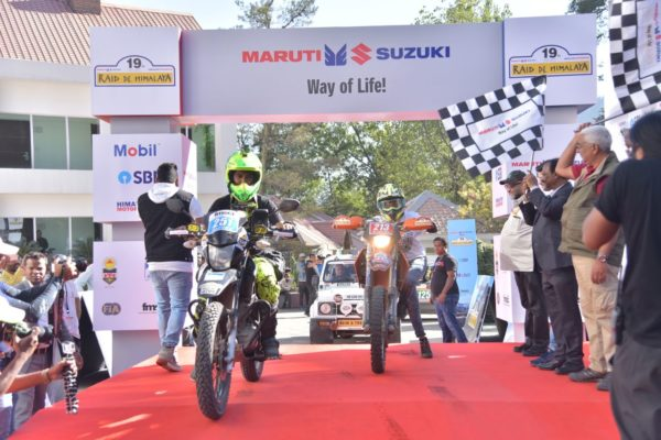 19th Maruti Suzuki Raid De Himalaya Kicked Off From Manali (3)