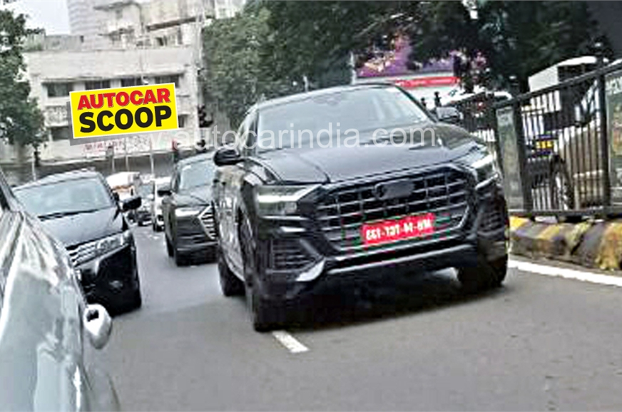 2018 Audi Q8 Spied Testing In India Images Features Tech Specs