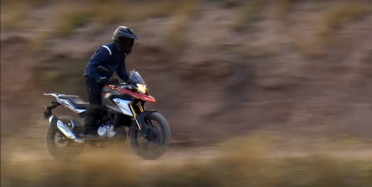 Video Watch The India Bound Bmw G 310 Gs Play Before It Goes On