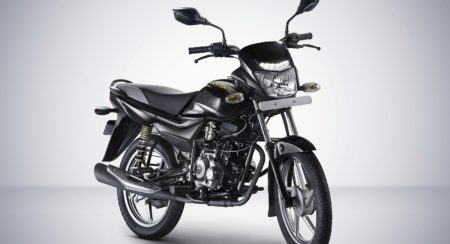 Bajaj Platina ComforTec with LED DRLs (1)