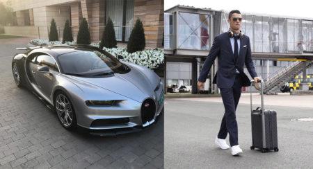 Cristiano Ronaldo - Bugatti Chiron - Feature Image (1)