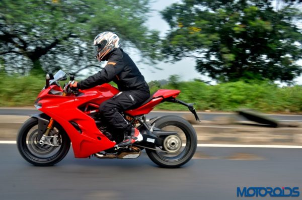 Ducati SuperSport S Review – Action Shots (5)