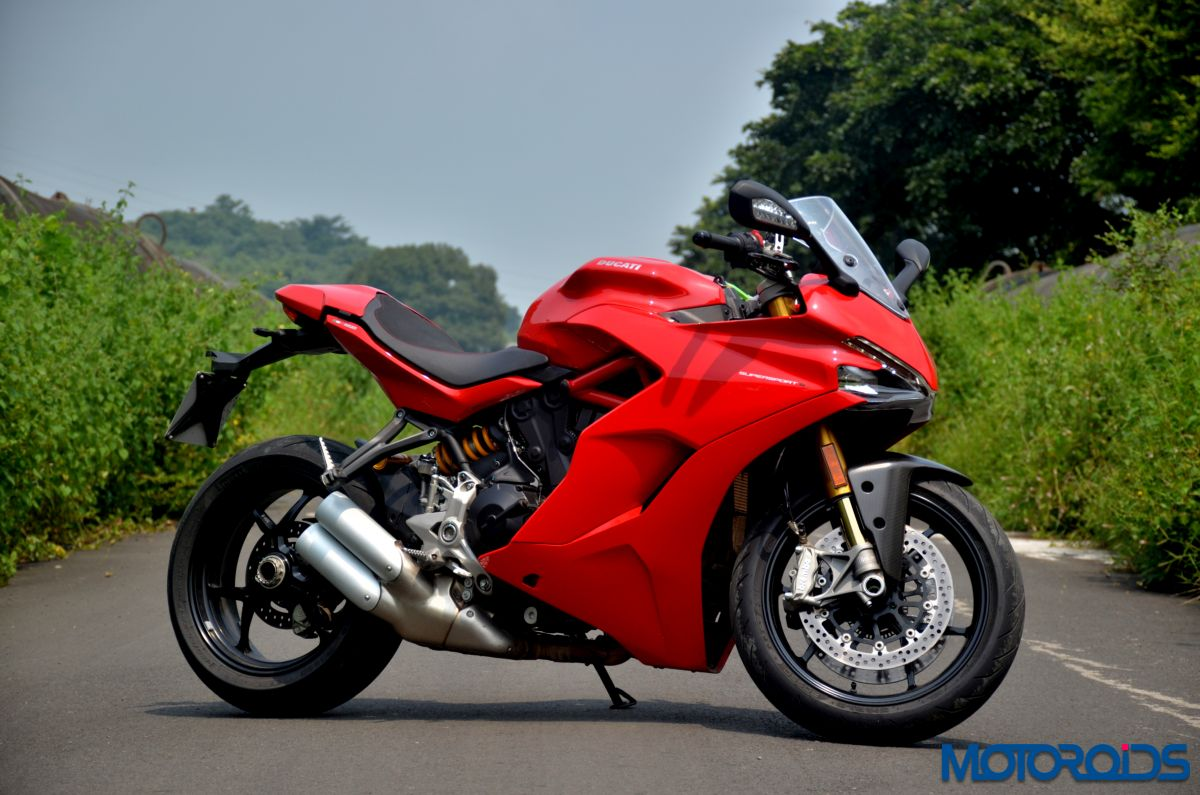 new 2017 ducati supersport s india review images price tech specs and features motoroids. Black Bedroom Furniture Sets. Home Design Ideas