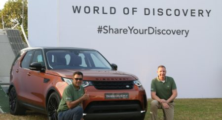 Land Rover Discover India Launch