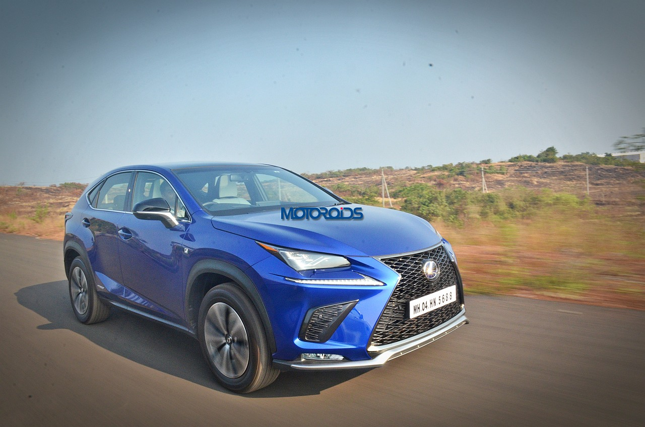 lexus nx 300h india video review features performance specs variants and price motoroids. Black Bedroom Furniture Sets. Home Design Ideas