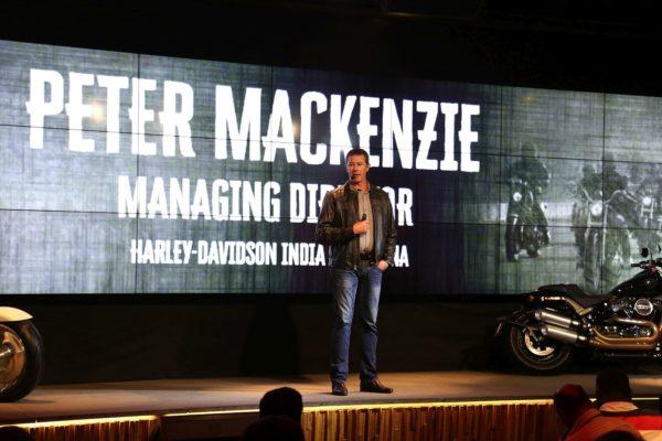 Peter-MacKenzie-Managing-Director-Harley-Davidson-India-and-China-Harley-Davidson-MY18-India-Launch-1-600x400