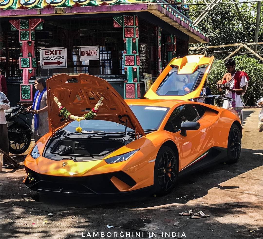 India S Second Lamborghini Huracan Performante Delivered In