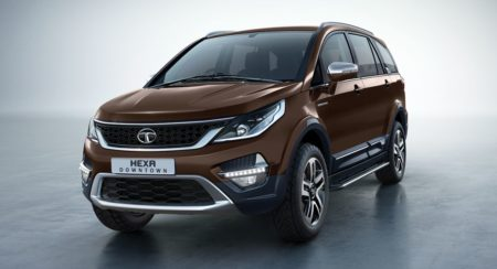 Tata Hexa Downtown Edition Urban Bronze