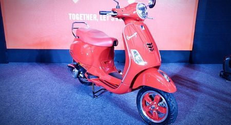 Vespa Red Launch India (12)