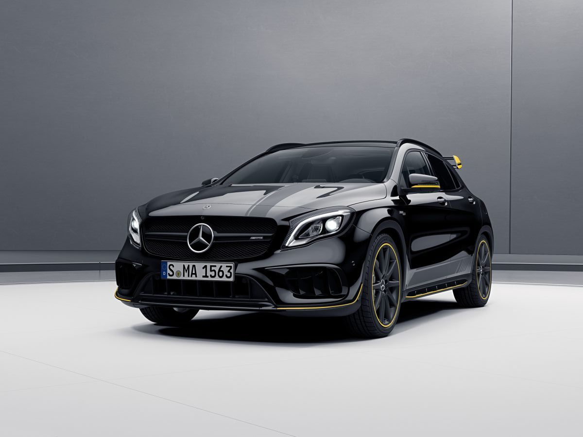 2017 mercedes amg gla 45 india launch date images features tech specs and prices motoroids. Black Bedroom Furniture Sets. Home Design Ideas