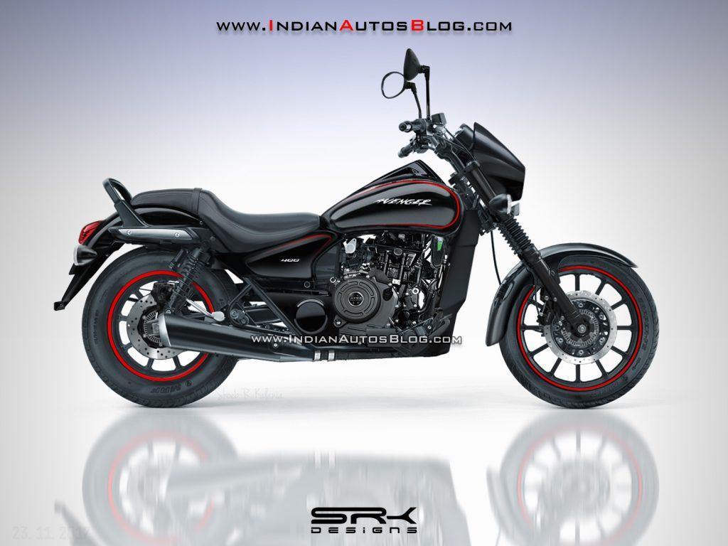 Bajaj Avenger 400 Render Imagines What The Actual Bike ...