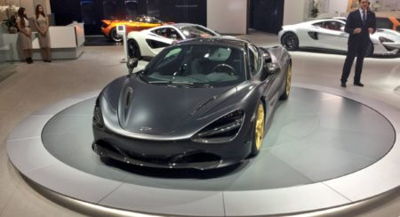 Bespoke McLaren 720S Grey and Gold (10)