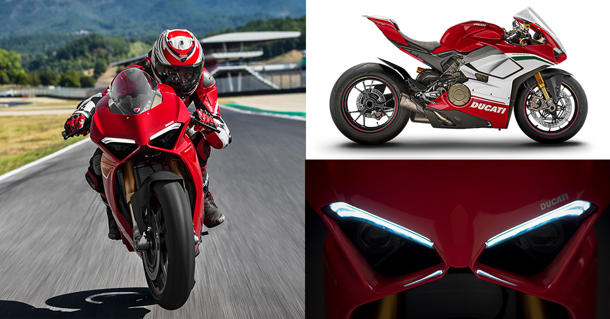 New 2018 Ducati Panigale V4 Range Revealed : All Features, Tech Specs, Image Gallery And Video ...